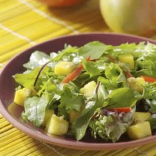 Mango Salad with Ginger-Raisin Vinaigrette