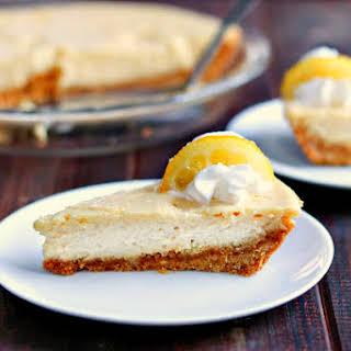 Creamy Lemon Pie with Candied Lemon Slices.