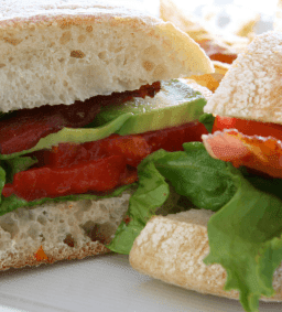 Avocado BLTs | nuwave oven recipe - pork -3