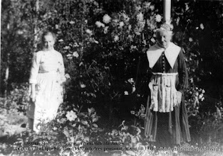 Photo: Storålund 1930-tal systrarna Anna & Ida Jansson, de köpte Storålund 1932 och drev pensionatrörelse till 1940 talet