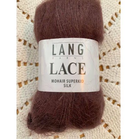 Lang - Lace Plommon 80