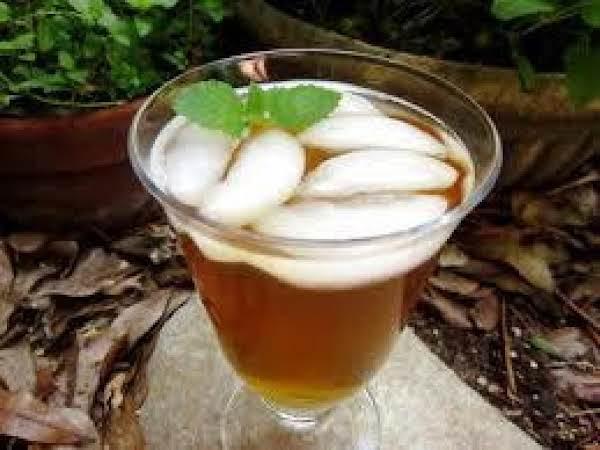 Almond Lemon Iced Tea