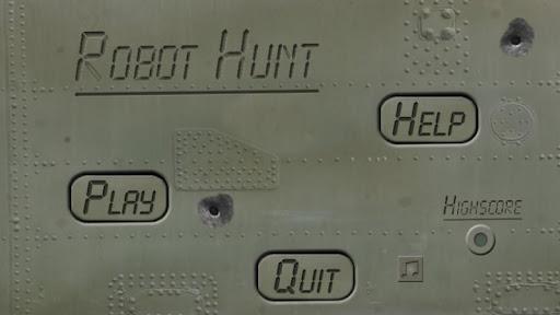 Robot Hunt screenshot 1