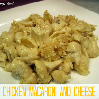 Chicken Macaroni and Cheese