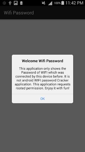 Wifi Password [Root] 2.8.3.1 screenshots 1