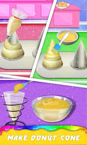Donut Ice cream Cone & Unicorn Ice Cream Sandwich 1.0.5 screenshots 3