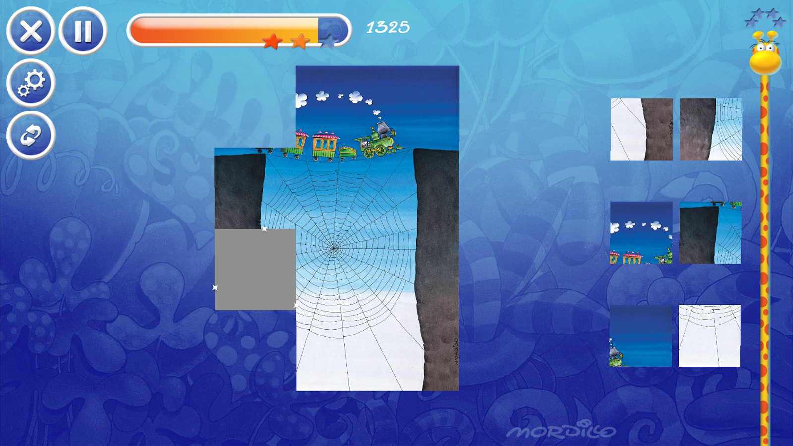 Mordillo Crazy Puzzle- screenshot