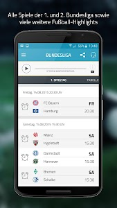 SPORT1.fm Bundesliga Radio screenshot 1