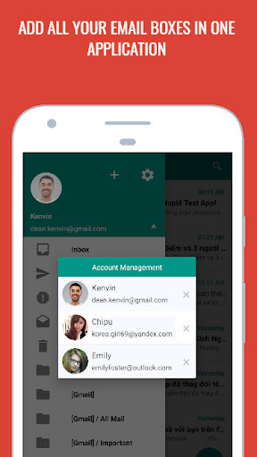 easymail - easy & fast email screenshot 2