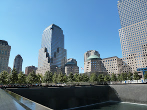 Photo: Area around the former Twin Towers.