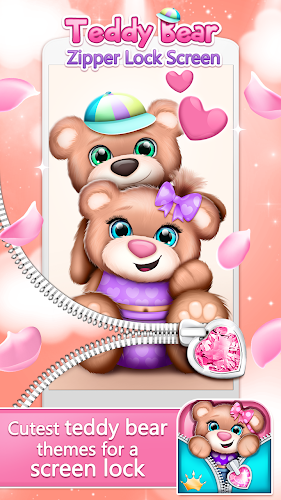 Download Teddy Bear Zipper Lock Screen Apk Latest Version