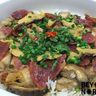 Chinese Clay Pot Chicken Rice (煲仔雞飯)