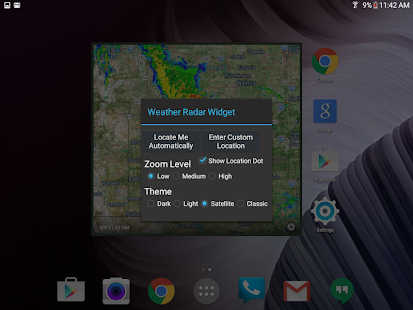 Download Weather Radar Widget For PC Windows and Mac apk screenshot 19