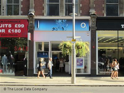 O2 On Kensington High Street