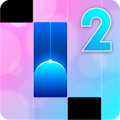 Piano Music Tiles 2 - Songs, Instruments & Games Icon