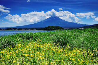 Photo: Another image of Fuji-san.