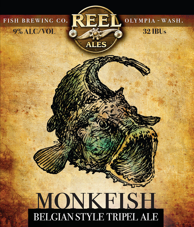 Logo of FIsh Tale Monkfish Tripel