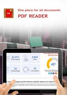 New PDF Reader - náhled