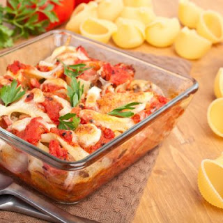 Mascarpone Chicken Pasta Bake.