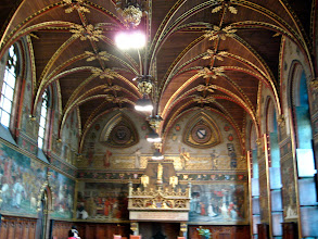 Photo: The Gothic hall in the Stadhuis. Sherry was most pleased, and took many inspirations for her library.