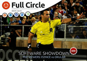 Full Circle Magazine issue 74 cover