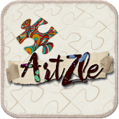 ArtZle Abstract Puzzle Game