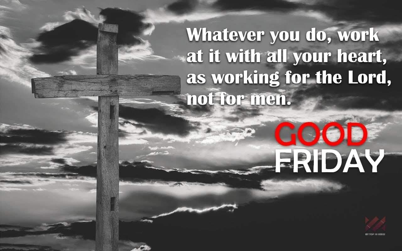 good friday 2018 message #9