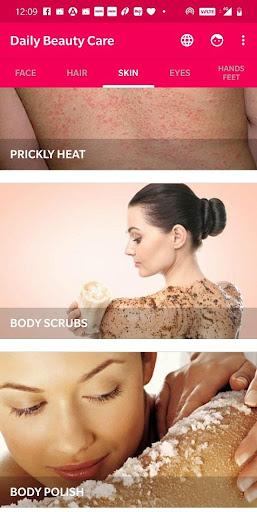 Daily Beauty Care - Skin, Hair, Face, Eyes 2.0.5 screenshots 4
