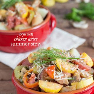 {One Pot} Chicken Anise Summer Stew