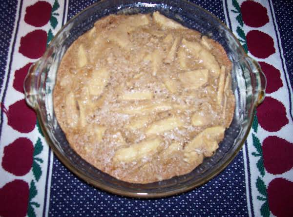 Summer Apple Pudding Pie Recipe
