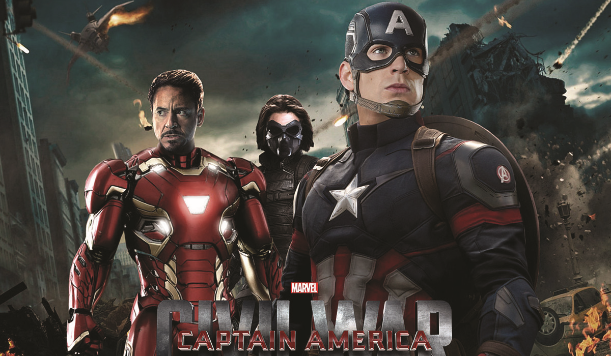 Captain America: Civil War - top highest grossing in Marvel Collection