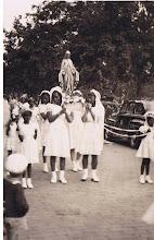 Photo: 1943 May Procession_St Cyprian Parish