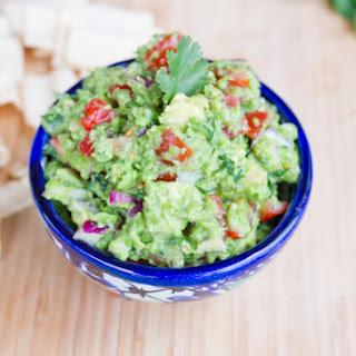 Healthy Guacamole (with Frozen Peas).
