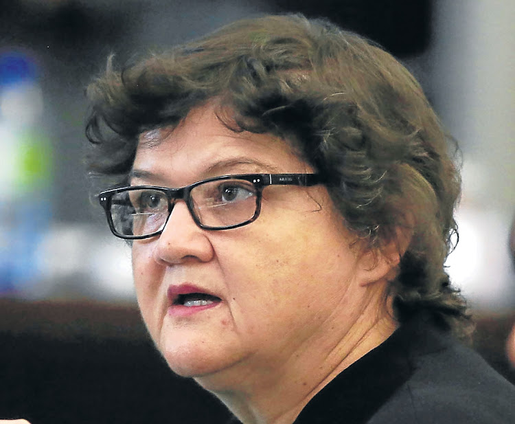 Lynne Brown. Picture: SUNDAY TIMES/ESA ALEXANDER