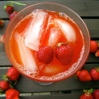 Sparkling Strawberry Lemonade.