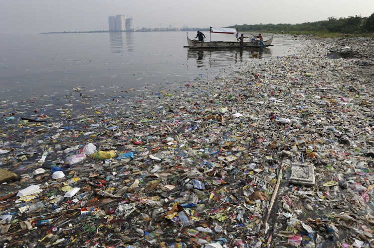 It is estimated that by 2025 there will be 1kg of plastic for every 3kg of fish in the ocean. Picture: REUTERS/ERIK DE CASTRO