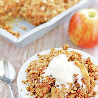 Apple Crisp Sugar Flour Butter Cinnamon Recipes