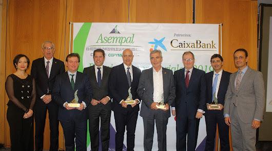 CASI, Cuellar, Rijk Zwaan y Terraza Carmona, Los  IX Premios Asempal
