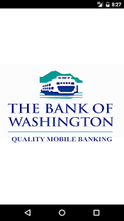The Bank of Washington Mobile- screenshot thumbnail