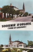 Photo: Orgueil (82) - Souvenir d'Orgueil - Carte des années 1950 postée le 23 juin 1957 à destination de Melle Paule Thibault à Paris-20