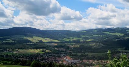 Photo: Blick nach Pöllau
