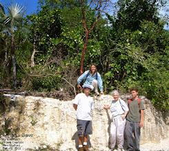 Photo: Adrian's Cave, south exit, edge of Ironwood Forest, Outpost Road, Grand Cayman. Photo: Ann Stafford, Feb. 19, 2003