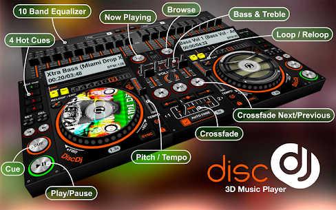 DiscDj 3D Music Player – 3D Dj Music Mixer Studio App Download For Android 5