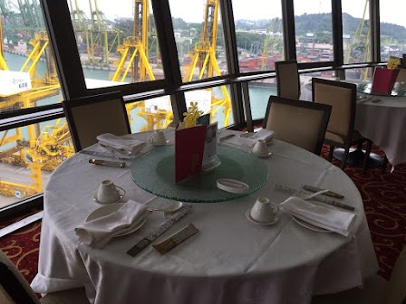 Prima Revolving Tower - Chinese Food with a panoramic view