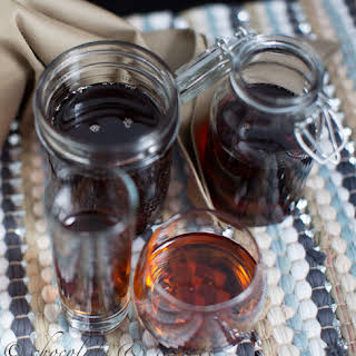 Homemade Maple Syrup.