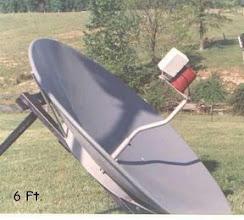 Photo: WX Satellite Antenna at WB9OTX
