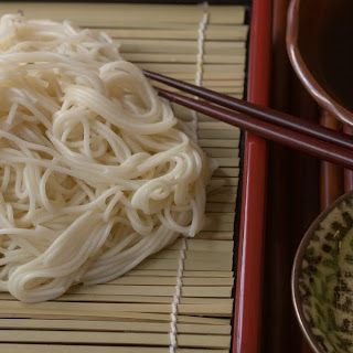 Cold Somen Noodles With Vegan Dipping Sauce