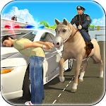 Police Horse Chase -Crime Town Icon