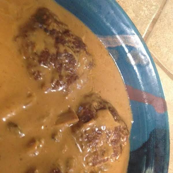 Dads Easy Salisbury Steaks Recipe