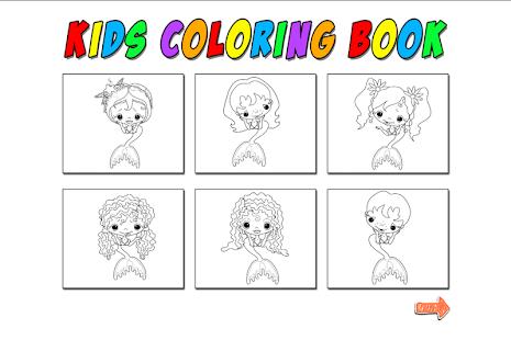 çocuk Boyama Denizkızı Google Playde Uygulamalar